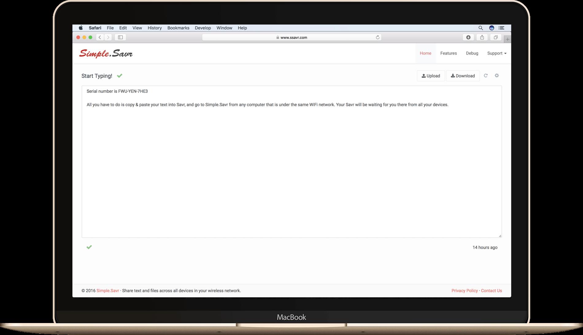 Simple.Savr – sync files using IP
